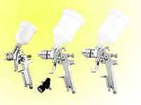 hvlp 4pcs air spray gun kit