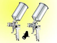 hvlp 3pcs air spray gun kit