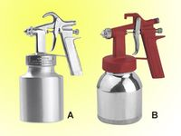 Low pressure spray gun