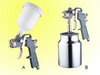 paint spray guns(gravity & suction)