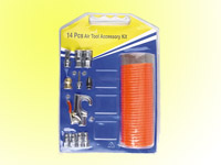 14pcs pneumatic accessories kit