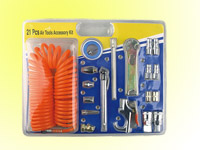 21pcs pneumatic accessories kit