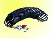 7.5m pa hose with mini blow gun
