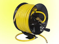 50ft pvc mesh air hose reel