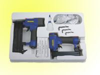 Air finish Nailer & air stapler kit