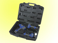 3pcs air brad nailer,brad nailer & stapler kit