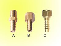 pneumatic fittings brass