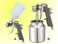 high pressure paint spray gun