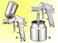 pneumatic spray guns f-75
