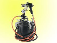 10L paint tank with sprayer