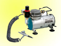 Airbrush & Mini. Compressor Kit