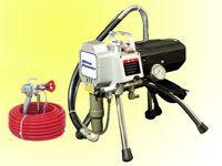 1.5hp airless spray gun & piston pump