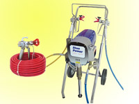 2hp airless pump & spray guns