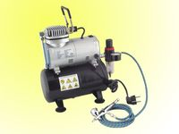 Mini Airbrush compressor with 3L tank & airbrush set