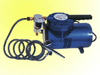 Airbrush & mini.air compressor kit