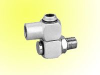 swivel free pneumatic fitting